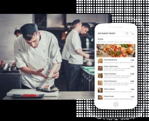 screenprint online menu smartphone