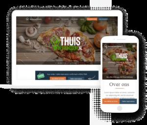 standaard restaurant website
